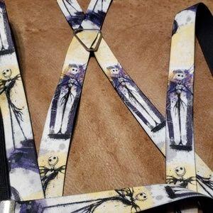 Disney Nightmare Before Christmas Suspenders